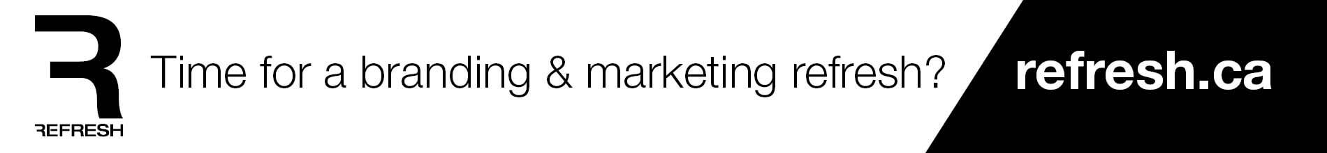 Time for a branding and marketing refresh